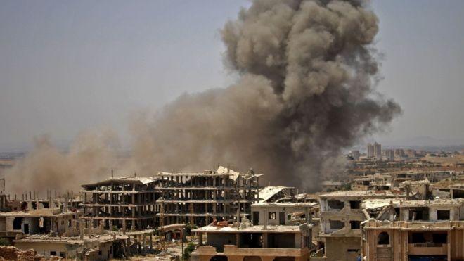 Nga muốn hợp tác với Mỹ trong việc tái thiết lại Syria