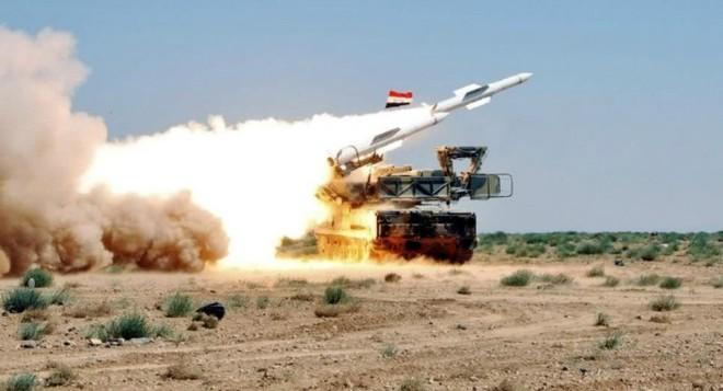 Quân đội Syria đã bắn hạ được vật thể bay nguy hiểm gần Damascus