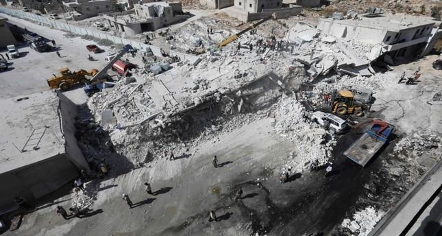 Tòa nhà xảy ra vụ nổ là nơi chứa vũ khí và đạn dược