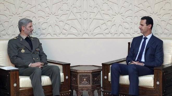 Iran đã kí thỏa thuận hợp tác quân sự với Syria