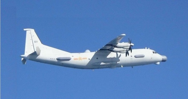 Nhật Bản không ít lần phải chặn máy bay Y-9JB