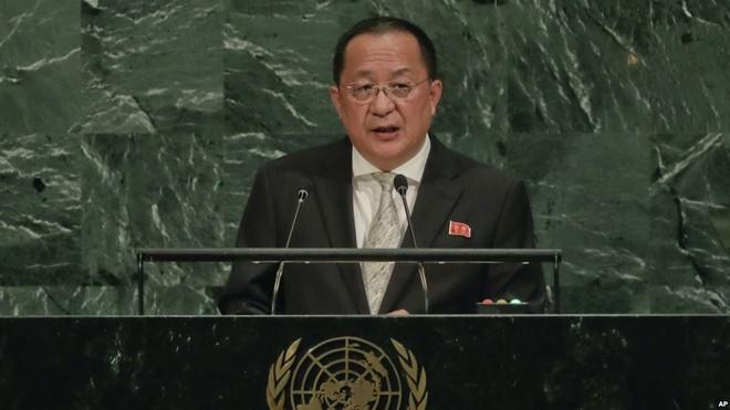 Ngoại trưởng Triều Tiên tuyên bố cứng rắn ở Liên Hợp Quốc