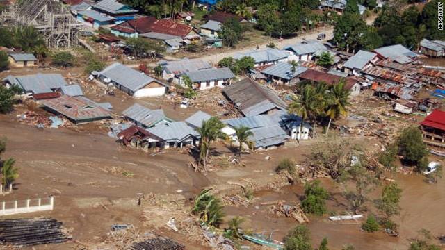 Các thảm họa thiên nhiên vẫn chưa buông tha cho Indonesia
