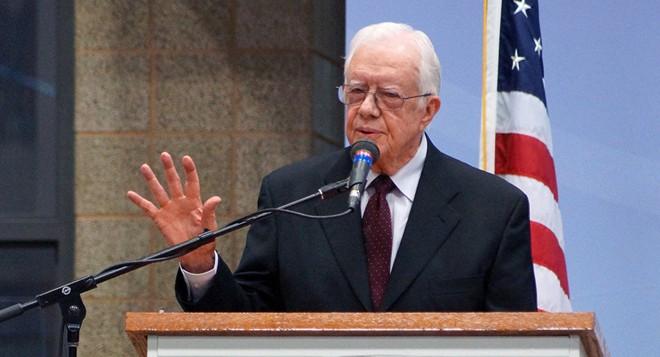 Cựu Tổng thống Mỹ Jimmy Carter muốn tổ chức đàm phán 3 bên với Triều Tiên - Hàn Quốc
