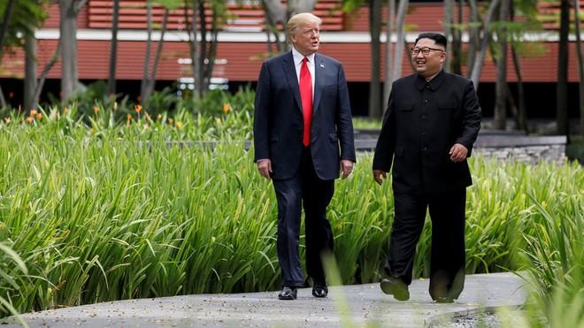 Tổng thống Trump có mối quan hệ tốt với ông Kim Jong-un