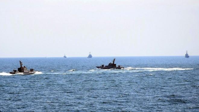 Ukraine kêu gọi NATO cùng tham gia hành trình mới qua eo biển Kerch