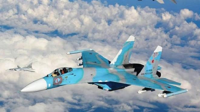 Hàng loạt tiêm kích Nga được triển khai lâu dài đến Crimea