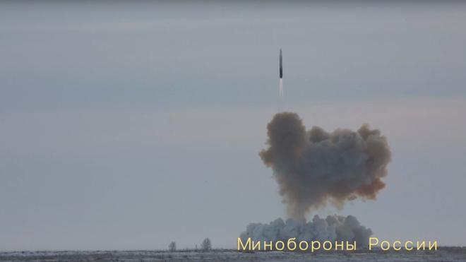 Tên lửa Avangard sẽ được biên chế vào năm 2019