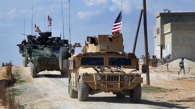 Quân đội Mỹ bắt đầu việc rút khỏi Syria