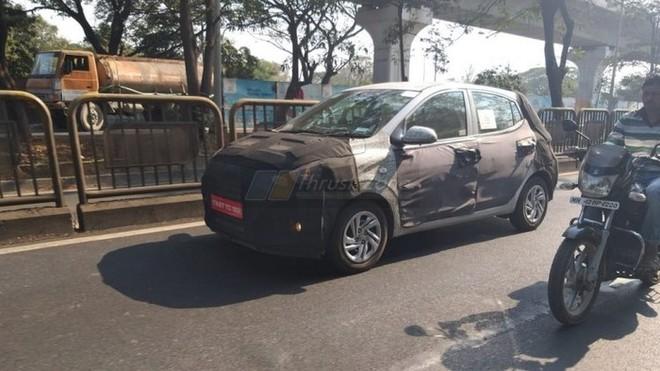 Hyundai i10 mới sẽ được trình làng vào tháng 10-2019