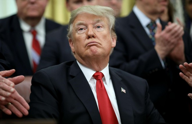 Tổng thống Trump quyết tâm ngăn cản Trung Quốc trong mọi phương diện