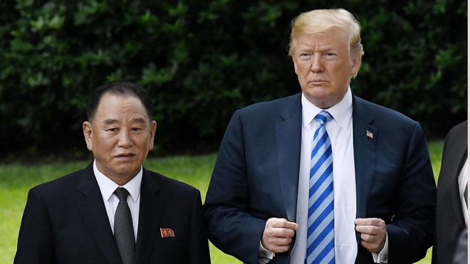Tổng thống Trump ca ngợi cuộc gặp với ông Kim Yong Chol
