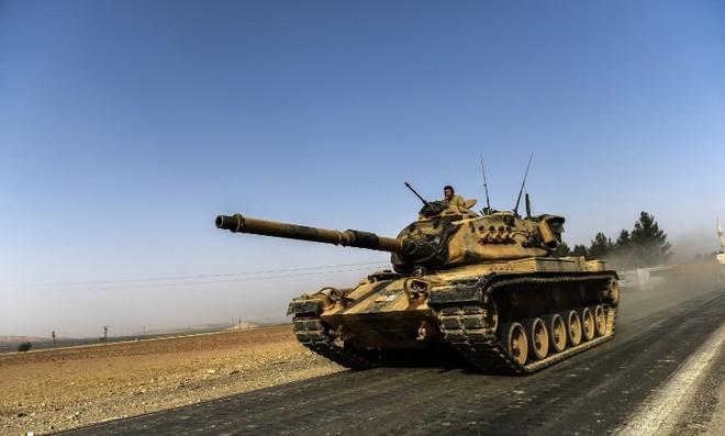 Quân đội Thổ Nhĩ Kỳ muốn đảm bảo lực lượng người Kurd không thể tiến gần biên giới nước này