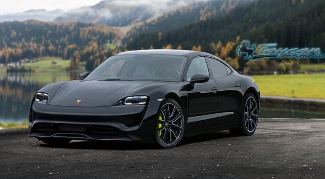 Taycan là mẫu xe chạy thuần điện đầu tiên của Porsche