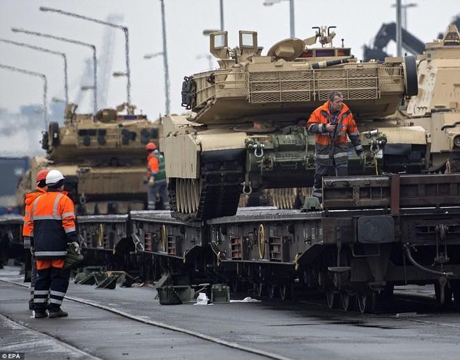 Kho vũ khí tại Ba Lan sẽ được sử dụng để chứa xe bọc thép và đạn dược