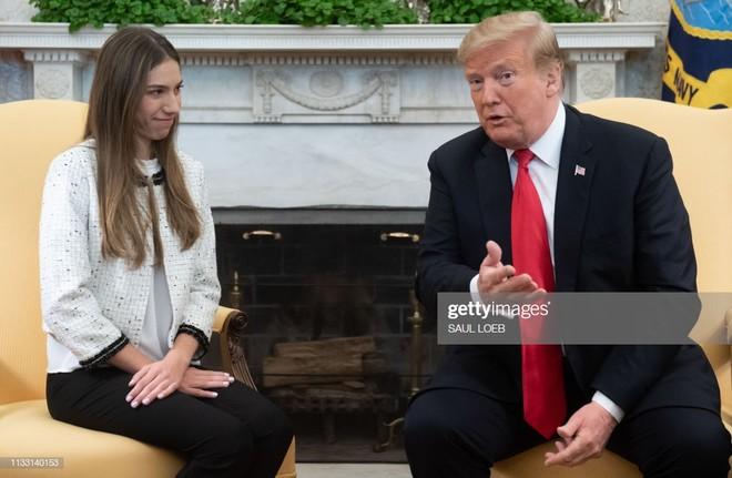 Tổng thống Trump tiếp vợ của lãnh đạo đối lập Venezuela Juan Guaido ở Nhà Trắng