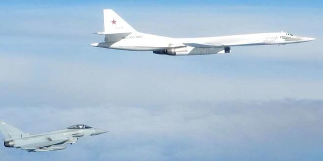 Máy bay Nga không xâm phạm vào không phận của Anh