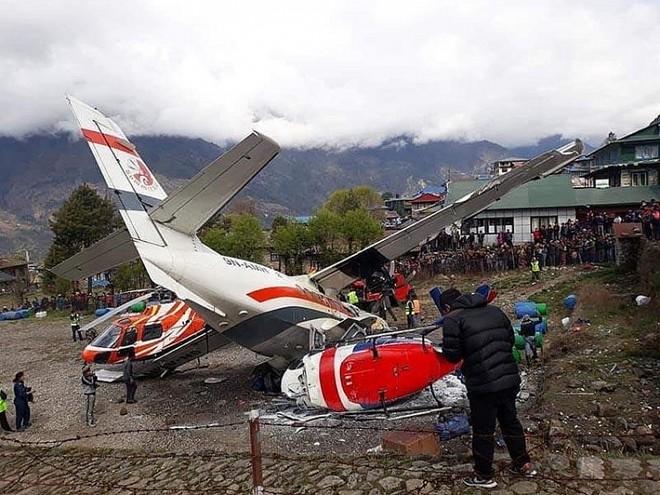 Tai nạn máy bay là điều thường diễn ra ở Nepal do địa hình và điều kiện thời tiết xấu