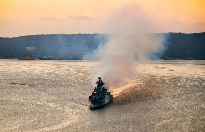 Cuộc tập trận chung của hải quân Nga và Trung Quốc sẽ kéo dài gần từ 29-4 đến 4-5