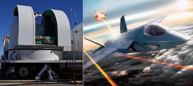 Máy bay chiến đấu của Mỹ sẽ sớm được trang bị vũ khí laser