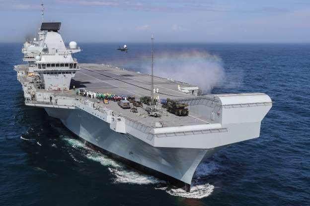 Tàu sân bay mới của Ấn Độ có thể giống hệt chiếc HMS Queen Elizabeth