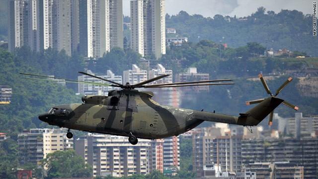 Đây là vụ tai nạn thứ 3 của trực thăng Venezuela từ đầu năm 2019