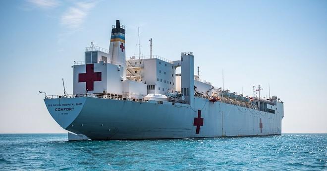 Tàu bệnh viện USNS Comfort của Mỹ