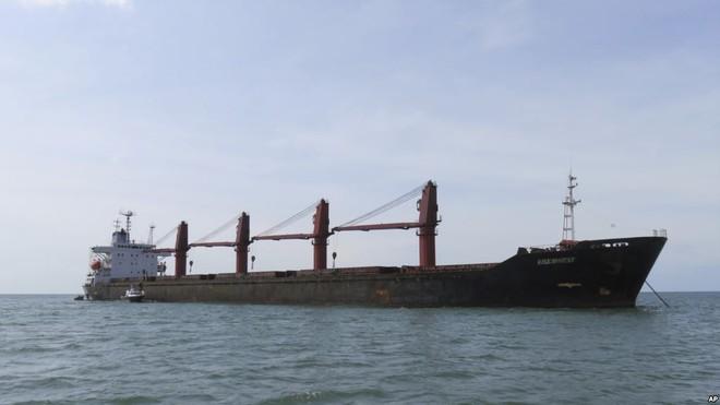 Đây là lần đầu tiên Mỹ bắt giữ một tàu chở hàng của Triều Tiên