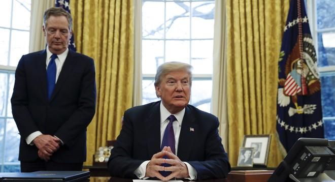 Tổng thống Trump quyết mạnh tay với Trung Quốc trong vấn đề thương mại