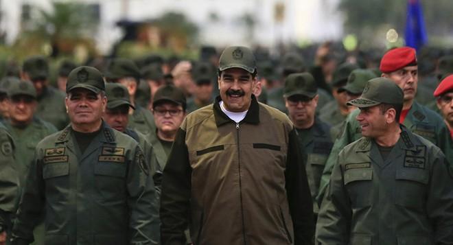Tổng thống Maduro vẫn nhận được sự ủng hộ nhiệt tình từ quân đội