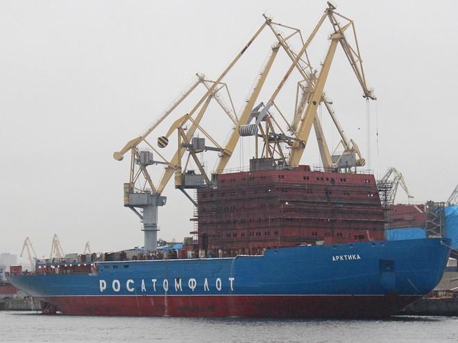 Nga đang là nước có hạm đội tàu phá băng lớn nhất thế giới