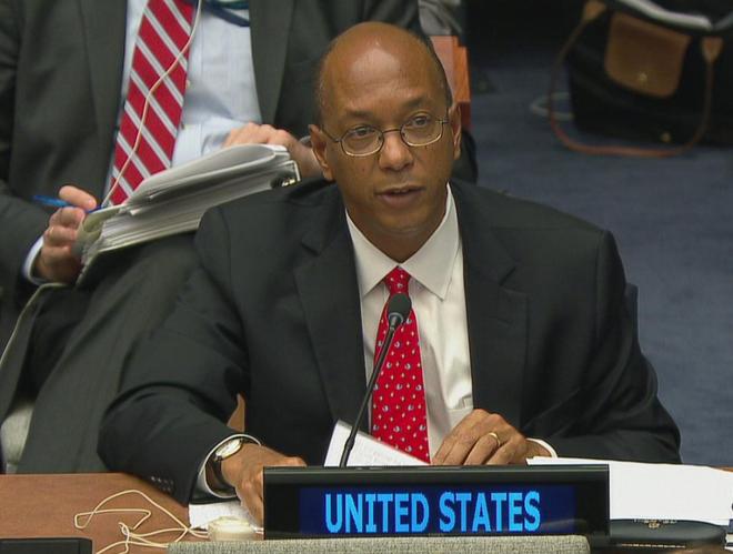 Ông Robert Wood, đại sứ Mỹ về chống phổ biến vũ khí tại Liên Hợp Quốc