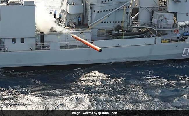 Ngư lôi Varunastra được Ấn Độ chế tạo với nhiều công nghệ hiện đại