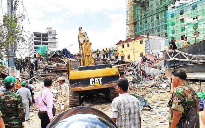 18 người đã được xác nhận thiệt mạng trong vụ sập nhà