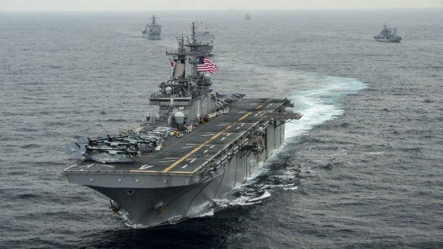 USS Boxer mang theo nhiều lính thủy đánh bộ và cường kích