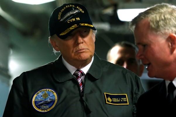 Tổng thống Donald Trump khẳng định giải pháp quân sự với Iran sẽ không cần đến sự triển khai binh lính xuống mặt đất
