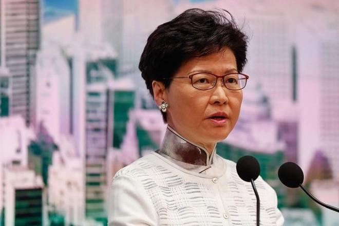 Trưởng đặc khu Hong Kong khẳng định sẽ khai tử dự luật dẫn độ