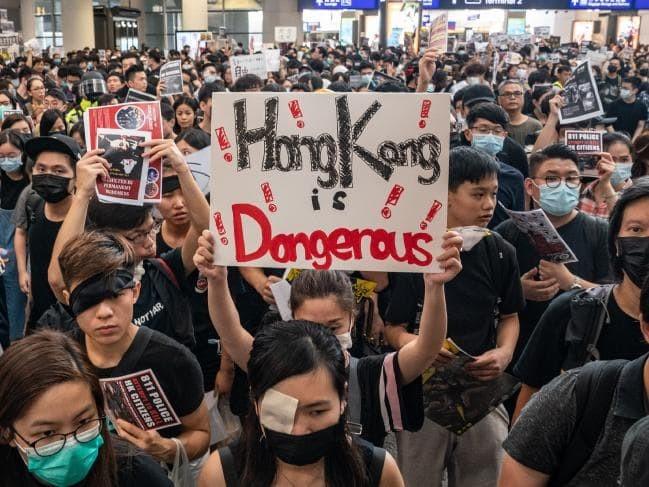 Người dân Hong Kong đã tạo ra làn sóng biểu tình suốt nhiều tháng qua