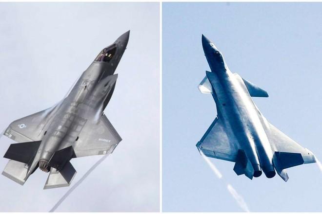 Tiêm kích tàng hình J-20 bị tố là chứa nhiều công nghệ đang xuất hiện ở F-35