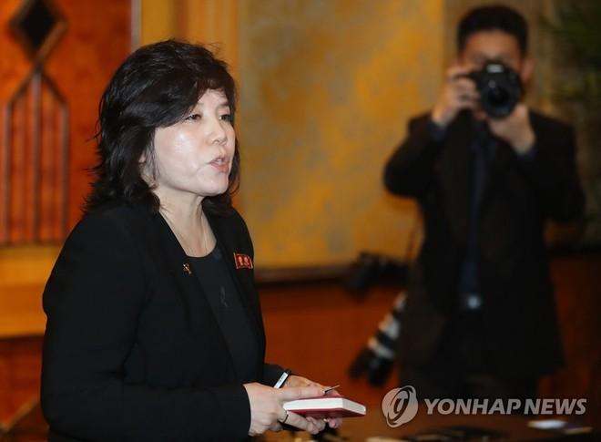 Thứ trưởng Ngoại giao Choe Son-hui chỉ trích bình luận của Ngoại trưởng Mỹ Mike Pompeo