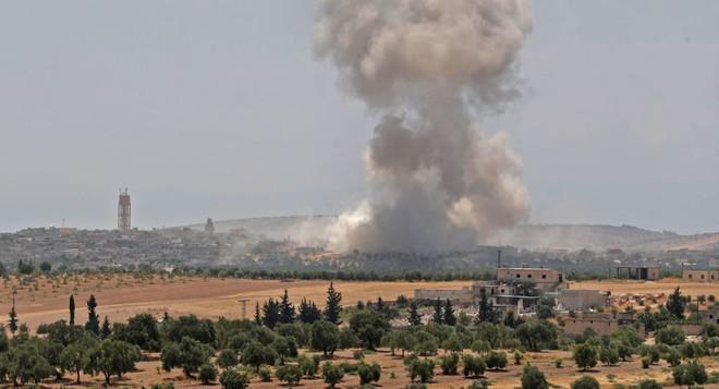 Mỹ bất ngờ tiến hành không kích ở Idlib nhằm tiêu diệt nhiều lãnh đạo khủng bố