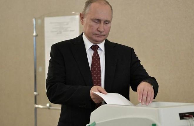 Đảng nước Nga thống nhất thân Tổng thống Putin đã mất đi ưu thế lớn tại nghị viện Moscow