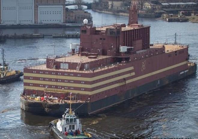 Akademik Lomonosov là nhà máy hạt nhân nổi đầu tiên của Nga