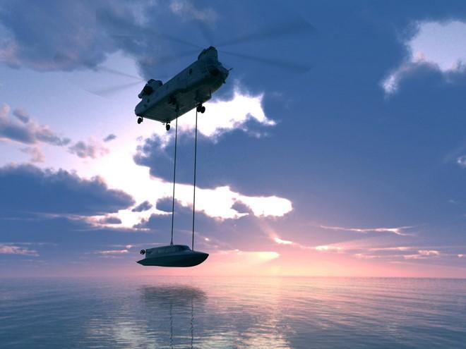 Tàu Victa có thể vừa di chuyển trên mặt nước, vừa lặn như tàu ngầm
