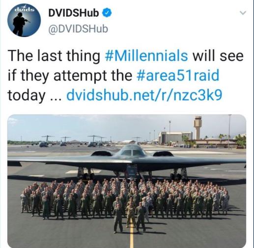 Quân đội Mỹ đã phải xin lỗi vì dòng tweet nhạy cảm