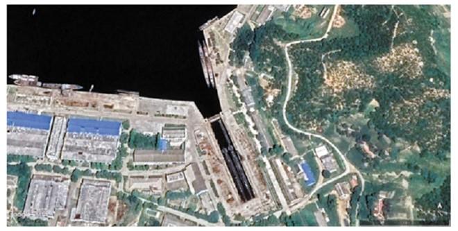 Triều Tiên đang nâng cấp căn cứ tàu ngầm Mayang