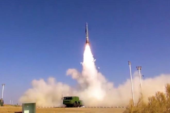 Hình ảnh loại tên lửa hành trình mới của Trung Quốc