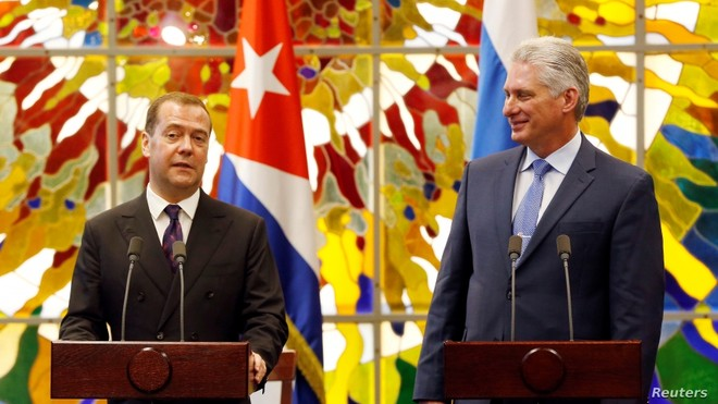 Thủ tướng Medvedev khẳng định Nga vẫn là đồng minh thân thiết của Cuba