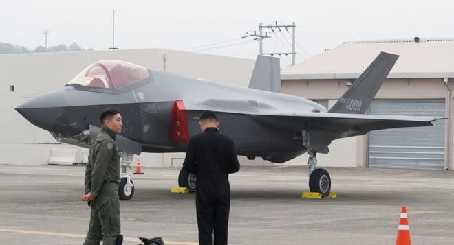 Tiêm kích tàng hình F-35 sẽ là máy bay chủ chốt trong tương lai của Hàn Quốc