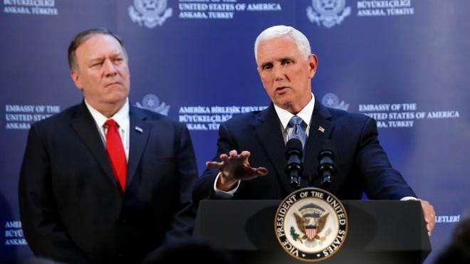 Mỹ đã thành công trong việc thuyết phục Thổ Nhĩ Kỳ dừng hoạt động quân sự ở Syria